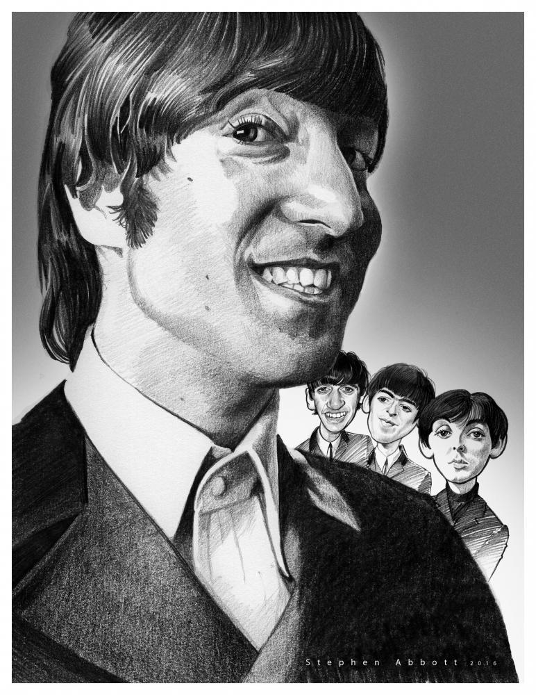 John Lennon by StephenAbbott